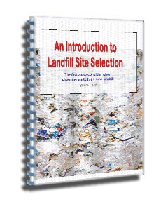 An introduction to landfill site selection