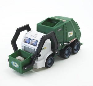 Image shows a Bin Lorry - not Veolia!
