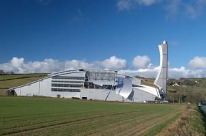 The new incinerator Richmond Hill Douglas, Isle of Man