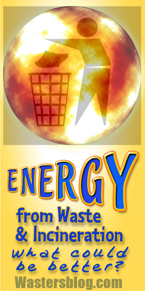 Image illustrates Energy from Waste and Incineration.