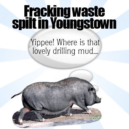Fracking waste spills in Youngstown
