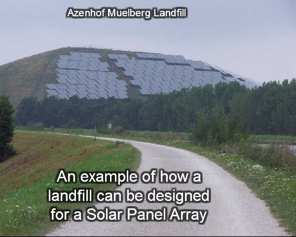 Image illustrates how Landfill Energy Systems Power Ahead in the United States.