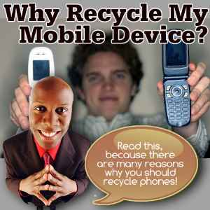 Old phone recycling, also known as Mobile Recycling - Old Phones and What to Do and Not to Do!
