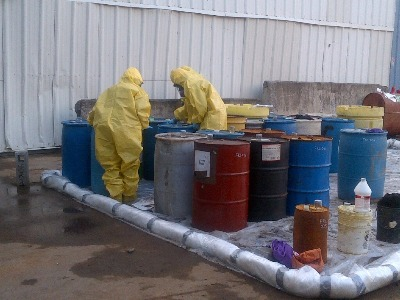 November 13, 2012 EPA Contractors at Fresh Kills Landfill, Staten Island