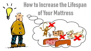 Image shows how to extend mattress lifespan meme.