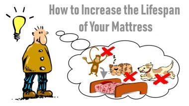 Image shows how to extend mattress lifespan meme.