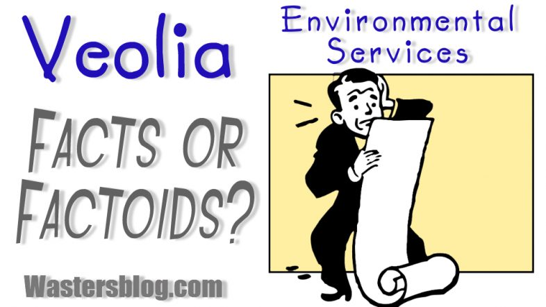 """Image used as a feature image for or article """"Veolia facts or factoids""""."""