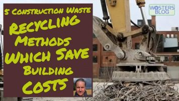Image is the thumbnail for our 5 waste recycling methods video.