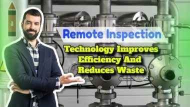 """Image with text: """"Remote inspection technology""""."""