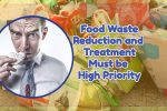 "Image text: ""Food waste reduction must be high priority""."