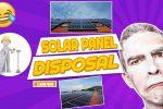"Image text: ""Solar Panel Disposal""."